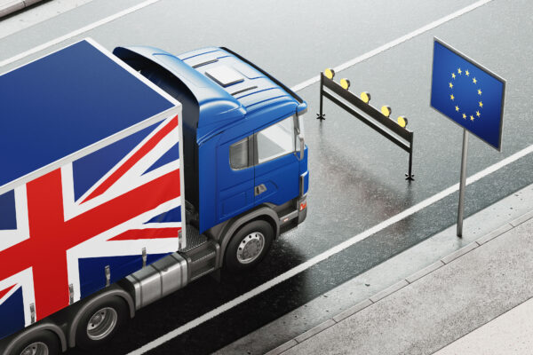 Import Customs Clearance After Brexit Truck